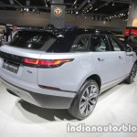 Range Rover Velar rear three quarters right at IAA 2017