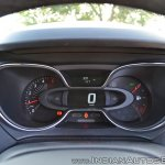Renault Captur test drive review Infinity instrument console