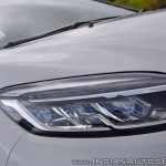 Renault Captur test drive review LED headlamp
