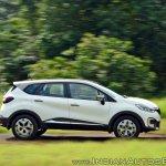 Renault Captur test drive review action shot side view