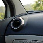 Renault Captur test drive review aircon vent