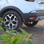 Renault Captur test drive review alloy wheel rear
