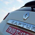 Renault Captur test drive review badge