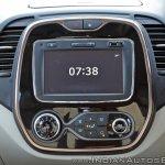 Renault Captur test drive review centre console