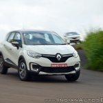 Renault Captur test drive review cornering