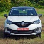 Renault Captur test drive review front view
