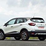 Renault Captur test drive review rear three quarters (2)