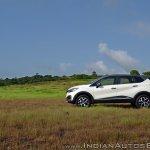 Renault Captur test drive review side far
