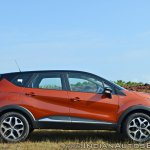 Renault Captur test drive review side view