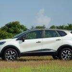 Renault Captur test drive review side