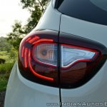 Renault Captur test drive review tail lamp