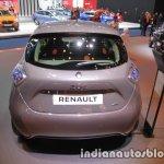 Renault Zoe rear at the IAA 2017