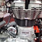 Royal Enfield Classic 350 Gunmetal Grey Autobics engine