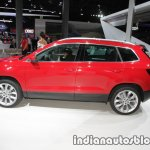 Skoda Karoq side showcased at IAA 2017