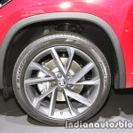 Skoda Kodiaq Sportline alloy wheel at IAA 2017