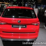 Skoda Kodiaq Sportline rear at IAA 2017