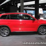 Skoda Kodiaq Sportline side at IAA 2017