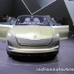 Skoda Vision E Concept front at the 2017 IAA