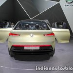 Skoda Vision E Concept rear at the 2017 IAA