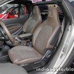 Smart BRABUS 15th anniversary edition interior seats at IAA 2017