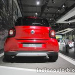 Smart forfour crosstown edition rear at IAA 2017