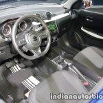 Suzuki Swift Dual Tone at IAA 2017 Frankfurt dashboard