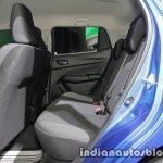Suzuki Swift Dual Tone at IAA 2017 Frankfurt rear seat