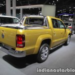 VW Amarok Aventura Exclusive rear three quarters right at IAA 2017