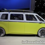 VW I.D Buzz concept side showcased at the IAA 2017