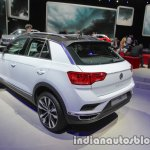 VW T-ROC rear three quarters at IAA 2017