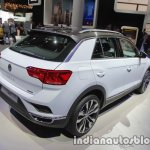 VW T-ROC rear three quarters right at IAA 2017