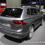 Volkswagen Tiguan Allspace rear three quarters at IAA 2017