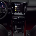 Volvo XC40 leaked centre console