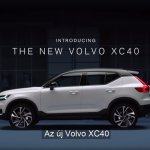 Volvo XC40 leaked side view