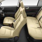 2015 Toyota Corolla Axio cabin