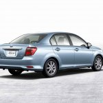 2015 Toyota Corolla Axio rear three quarters