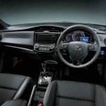 2015 Toyota Corolla Fielder dashboard
