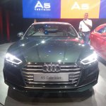 2017 Audi A5 Cabriolet front elevated view
