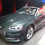 2017 Audi A5 Cabriolet front three quarters left side