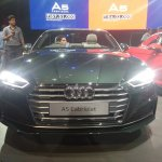 2017 Audi A5 Cabriolet front