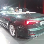 2017 Audi A5 Cabriolet rear three quarters left side