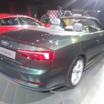 2017 Audi A5 Cabriolet rear three quarters right side
