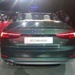 2017 Audi A5 Cabriolet rear