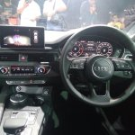2017 Audi A5 Sportback dashboard driver side