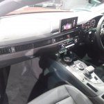 2017 Audi A5 Sportback dashboard left side view
