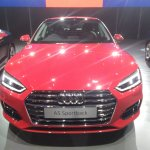 2017 Audi A5 Sportback front elevated view