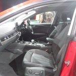 2017 Audi A5 Sportback front seats