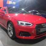 2017 Audi A5 Sportback front three quarters right side