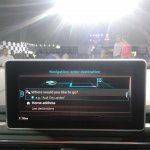 2017 Audi A5 Sportback infotainment system display