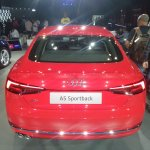 2017 Audi A5 Sportback rear elevated view